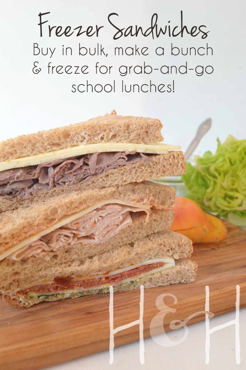 Make Ahead Lunches for School or Work I get so many requests for lunch menus so I thought I would re-post my make ahead lunch plan. Where was this Make Ahead Lunch idea back when two of my kids took their lunch to school and EVERY morning I had make them.