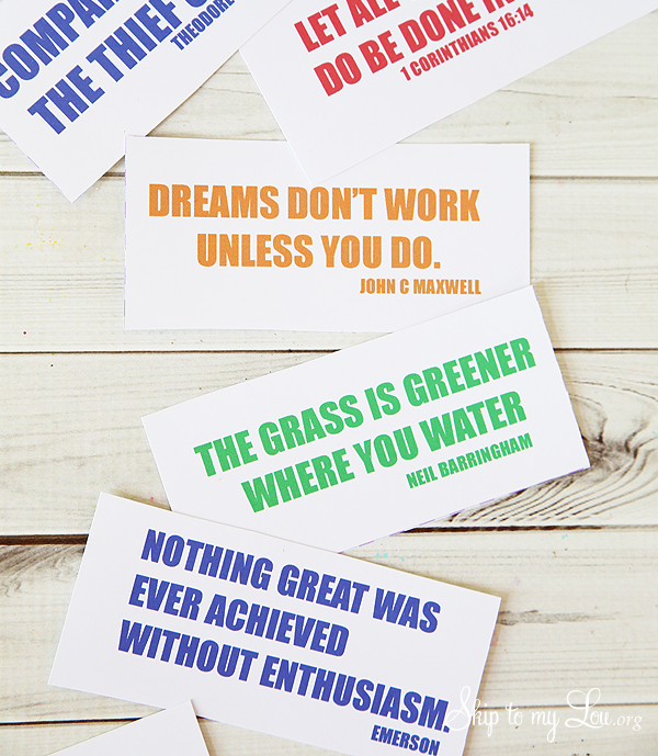 printable inspiration cards