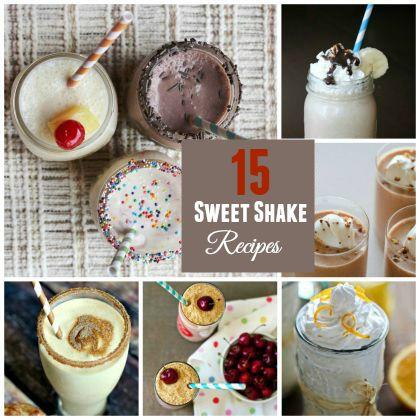 sweet shake recipes