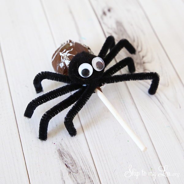 tootsie pop spider tutorial