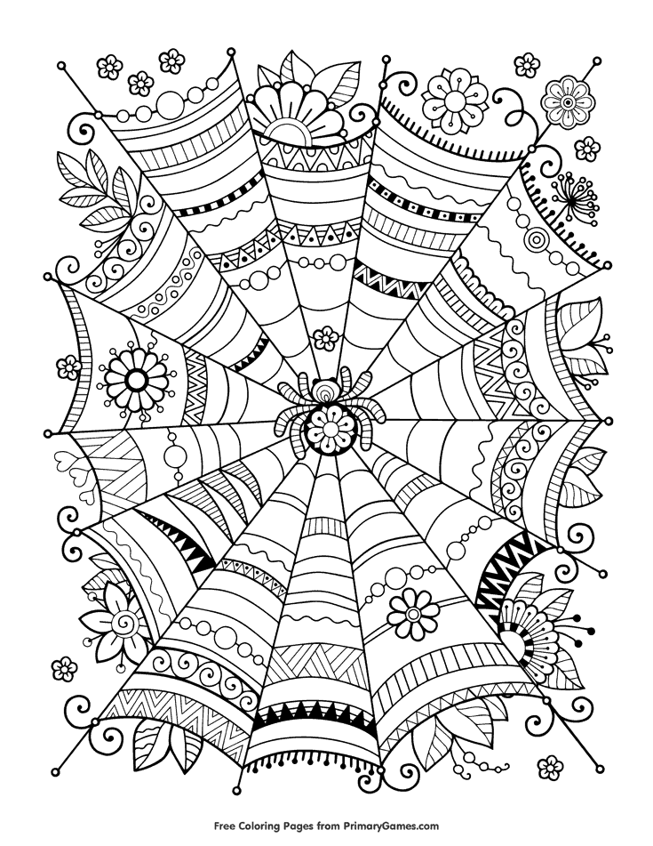 Cute Halloween Coloring Pages To Print And Color Skip To
