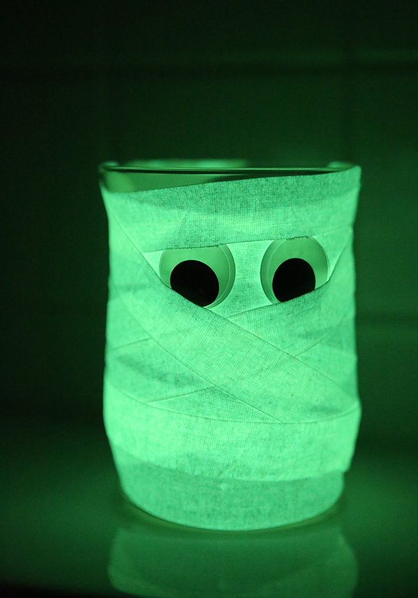 Glow In The Dark Mummy Craft Skip To My Lou