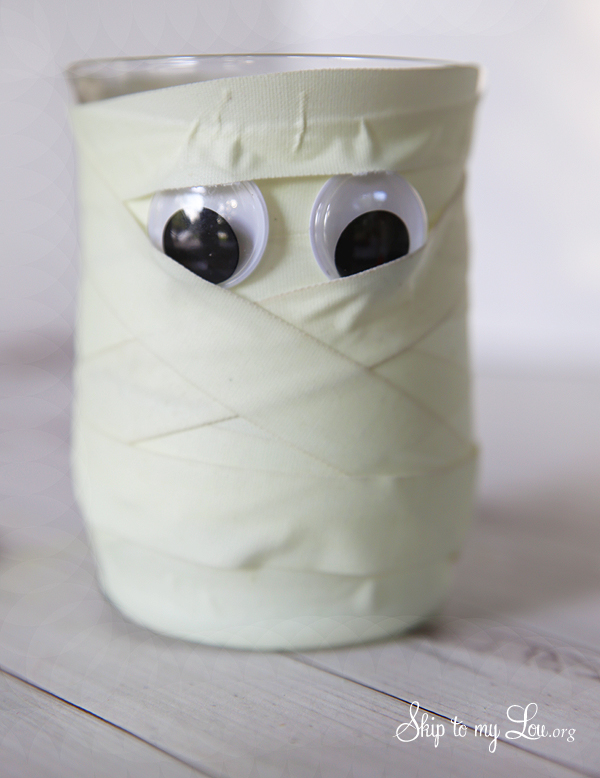 Glowing Mummy How to