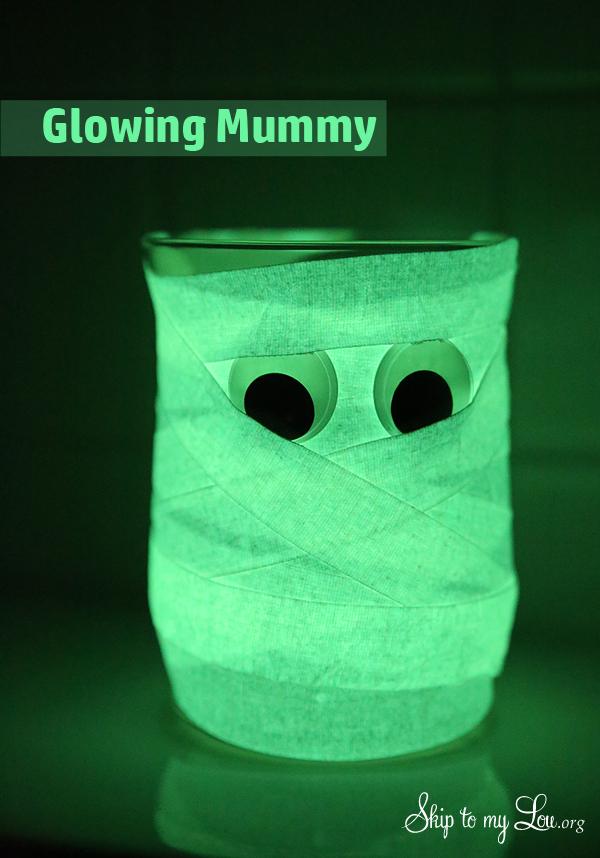 Glowing Mummy