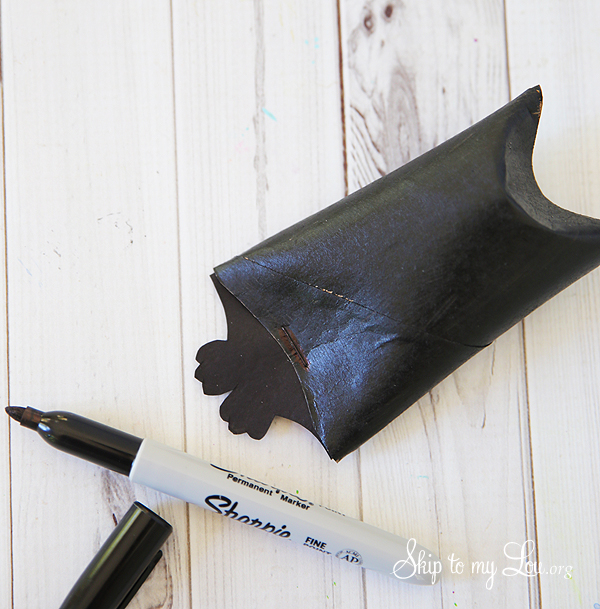 bat toilet paper roll craft