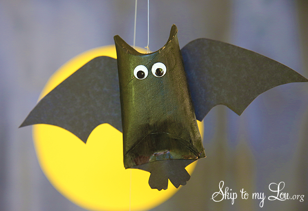 hanging toilet paper roll bat