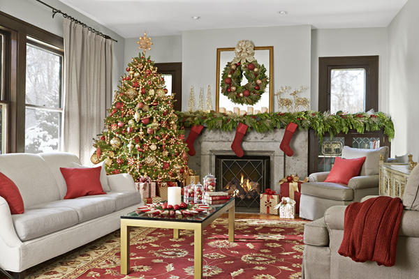 holiday livingroom
