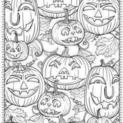 Halloween Coloring Pages Check Out These From Around The Web Crazy