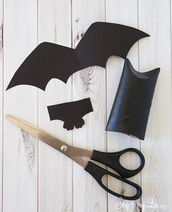 toilet paper roll bat favor templates