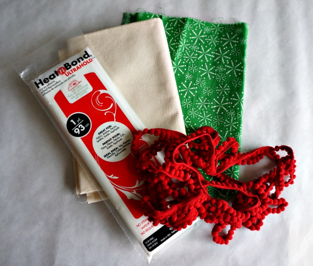 fabric, trim, Christmas