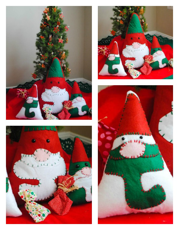 Christmas Gnome Collage