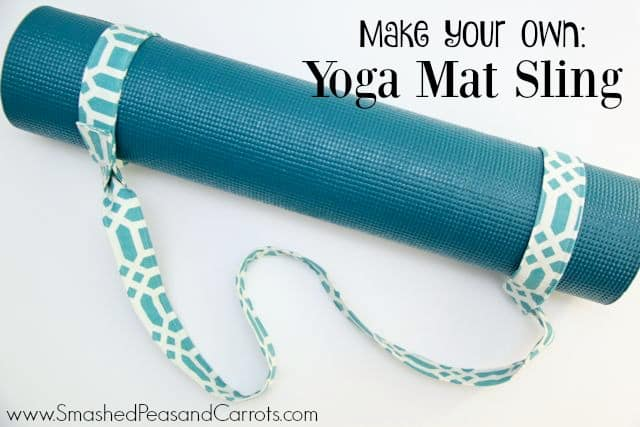 2b92ad3d87 DIY Yoga Mat Sling Tutorial