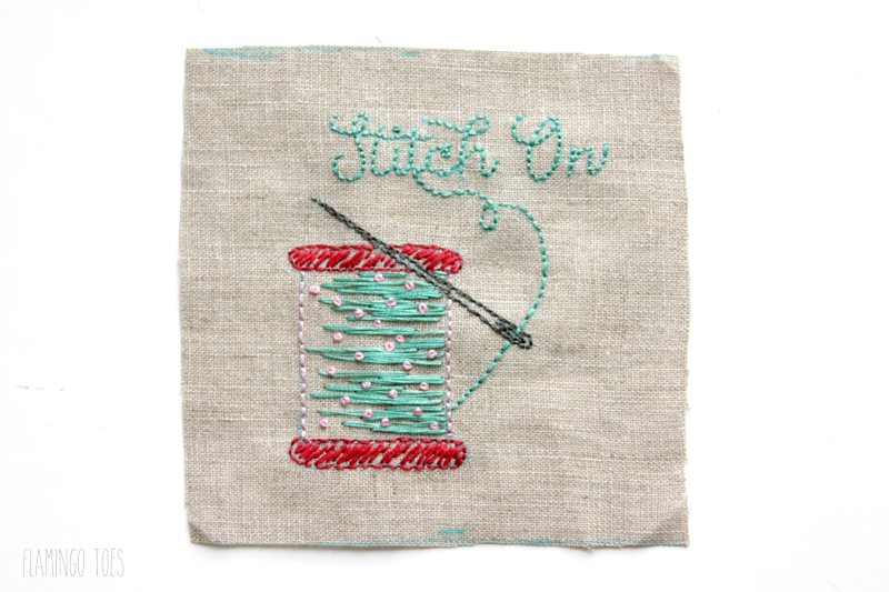 Embroidery Stitch On
