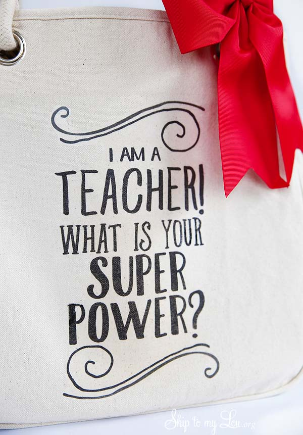 I am a teacher what is your super power printable