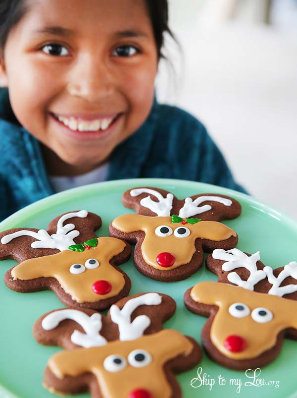 Reindeer Cookie child activity