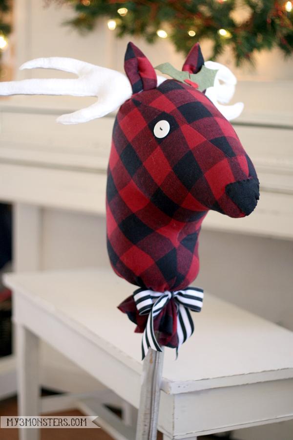 Stick Reindeer 3-600
