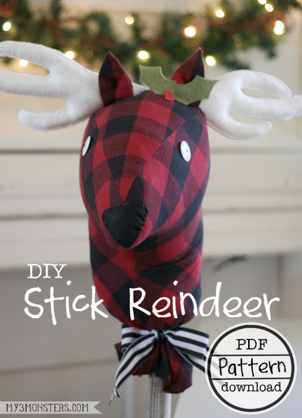 Stick Reindeer titled -600