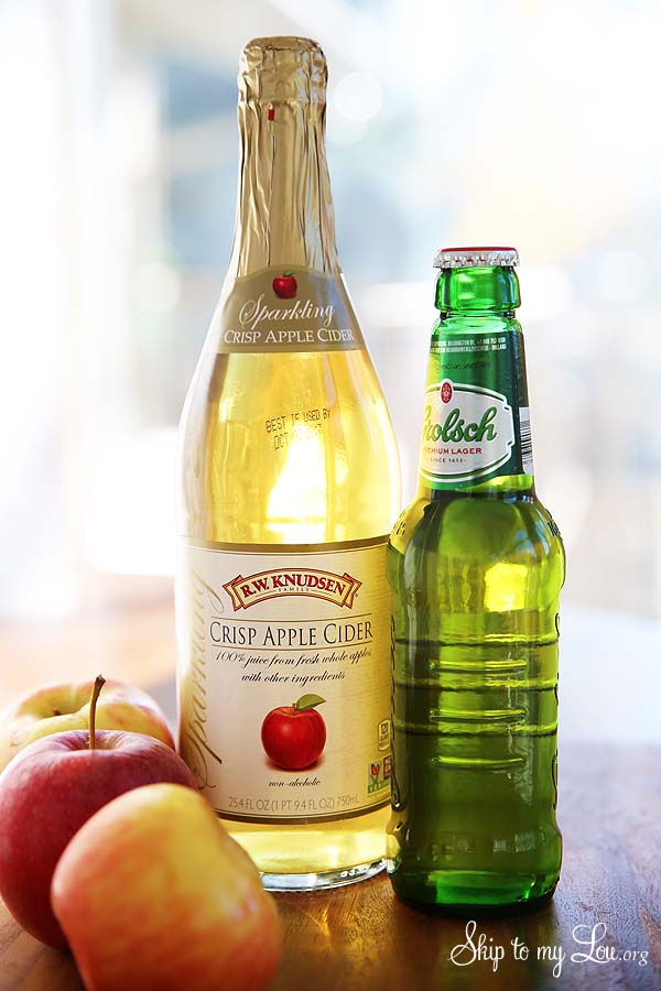 apple cider shandy ingredients