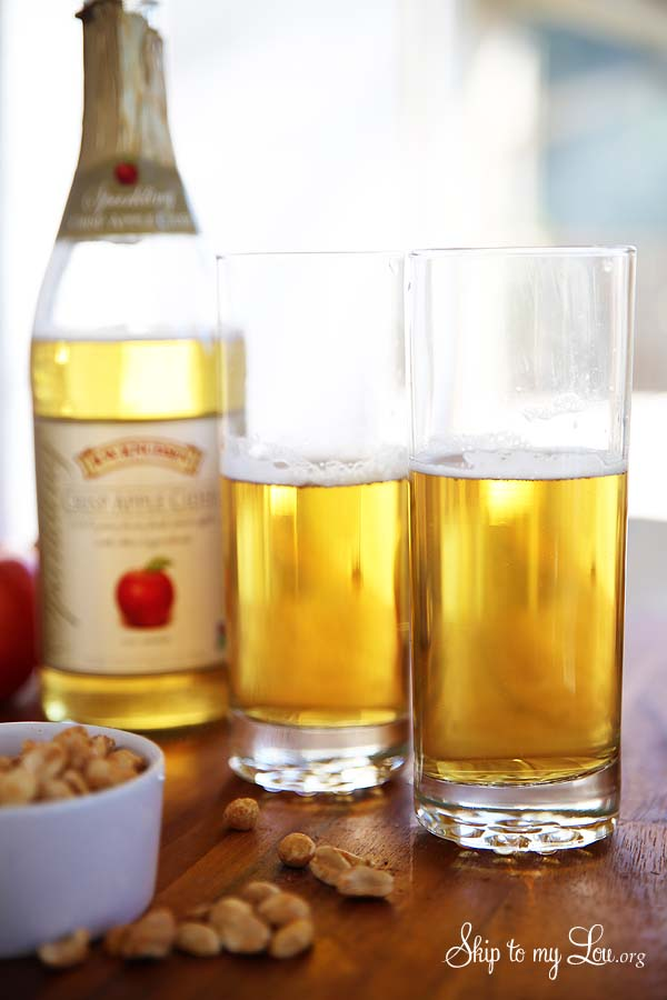 apple cider shandy