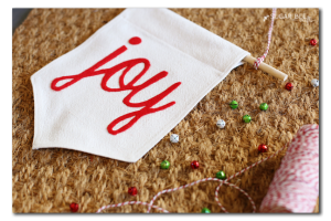 diy joy banner