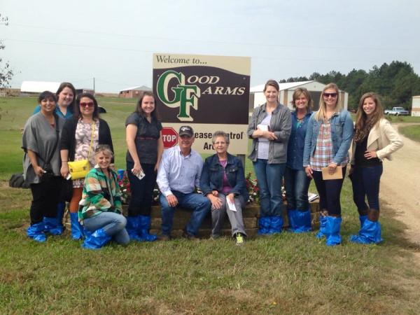 farm food tour group