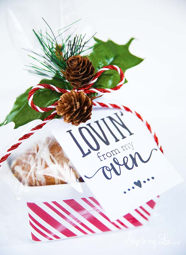 lovin from my oven gift tag
