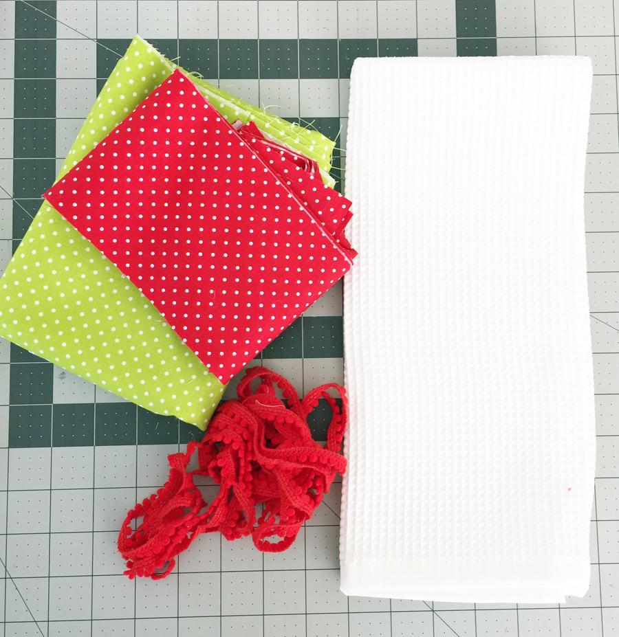 materials dishtowel