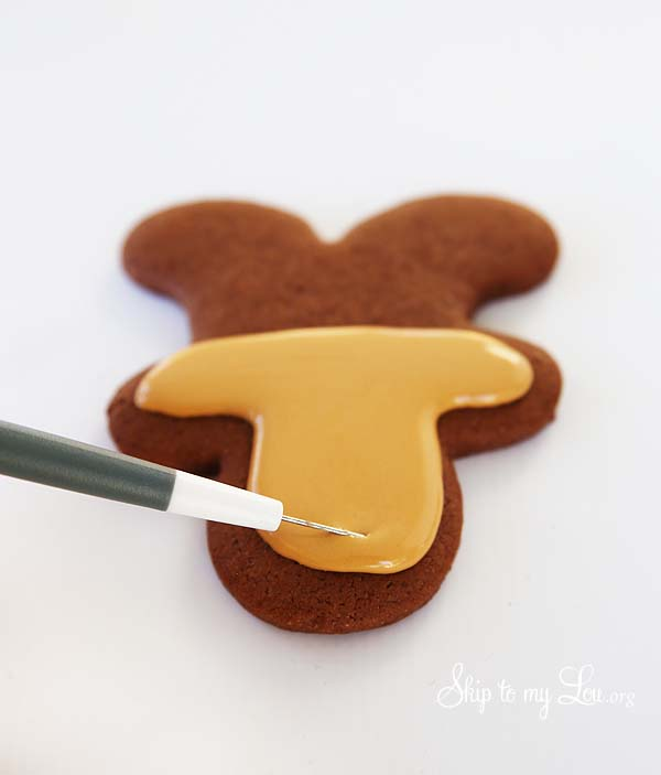reindeer cookie needle technique
