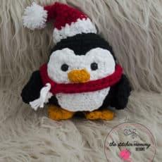 Stuffy The Christmas Penguin - Free Pattern - The Stitchin Mommy