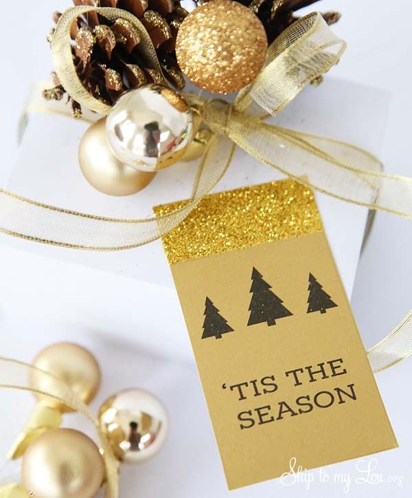 Christmas Gift Tags Printable