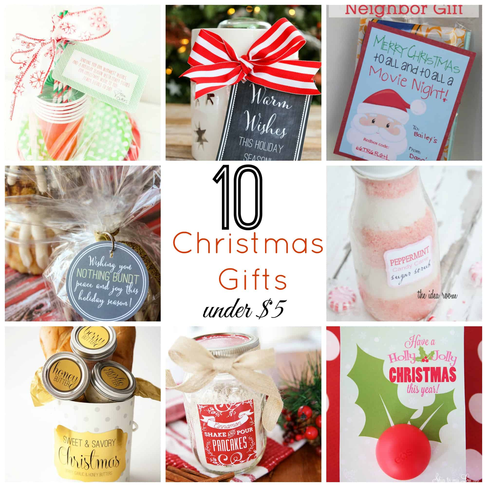 10 Christmas Gifts Under $5 | Skip To My Lou