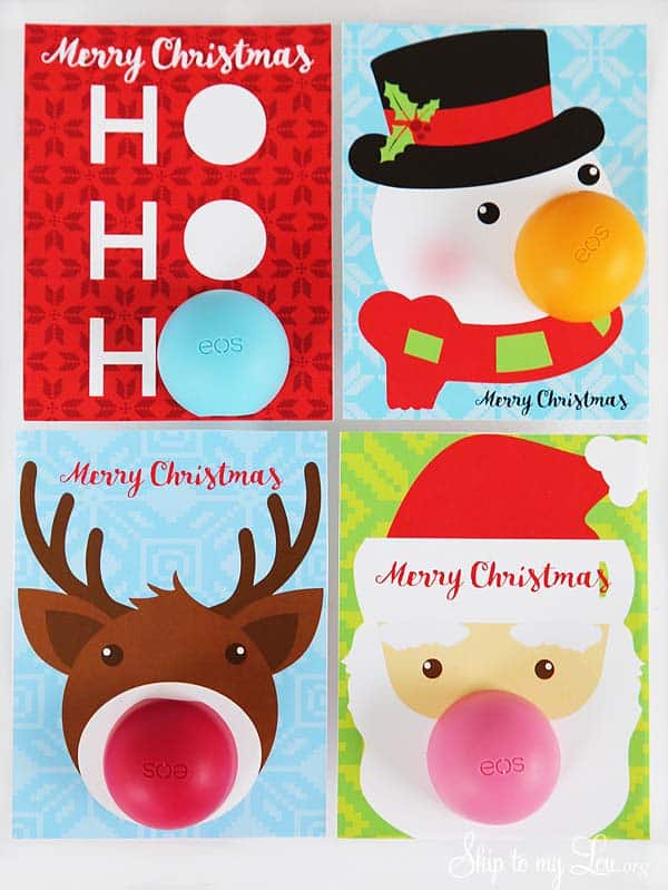 Eos Lip Balm Christmas Gifts Skip To My Lou