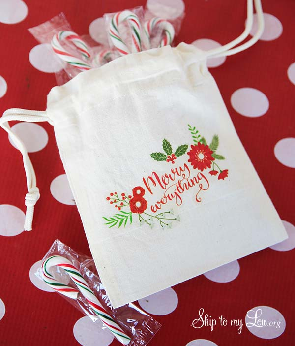 Merry Everything Favor Bags