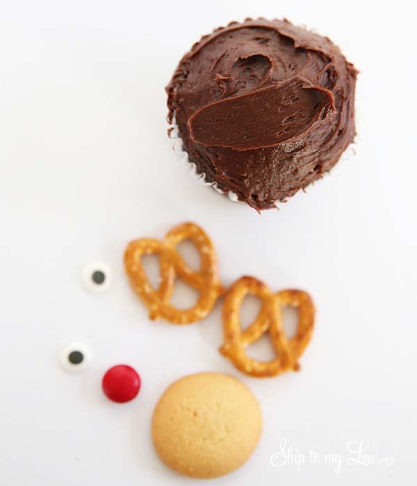 Reindeer Cupcake Supplies