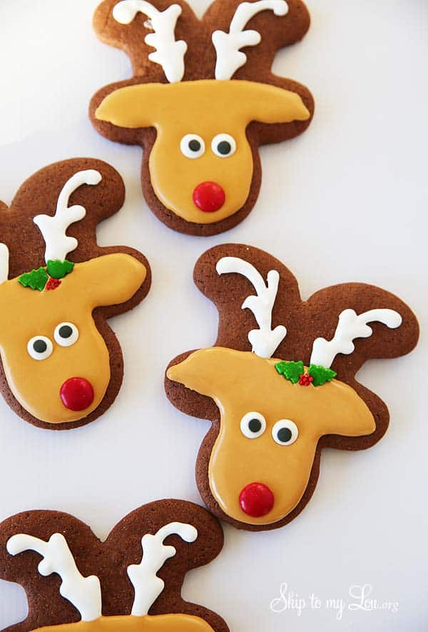 reindeer sugar cookies skip to my lou