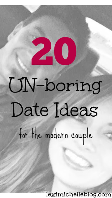 20 date ideas for married couples