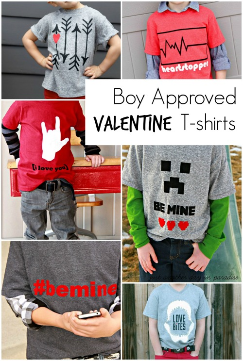 Boy Approved Valentine T-shirts edit