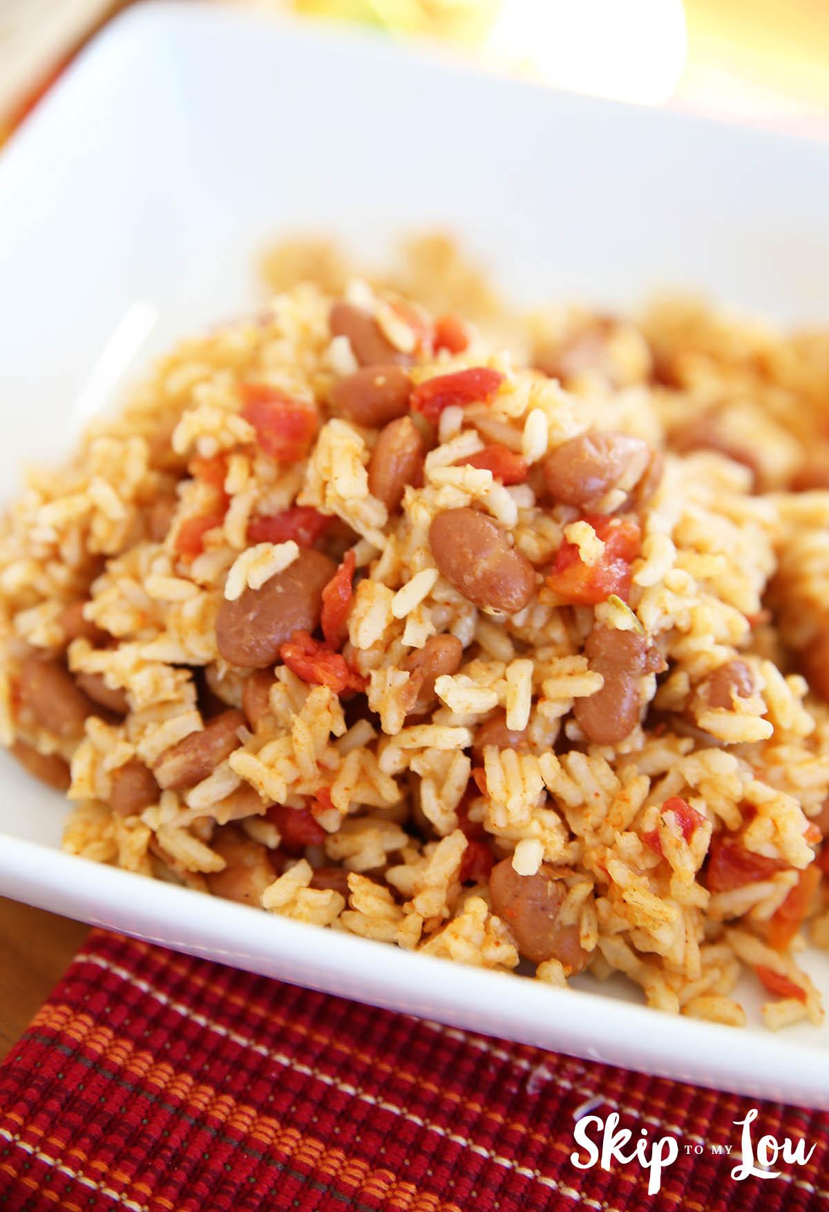Presser Cooker Rice & Beans