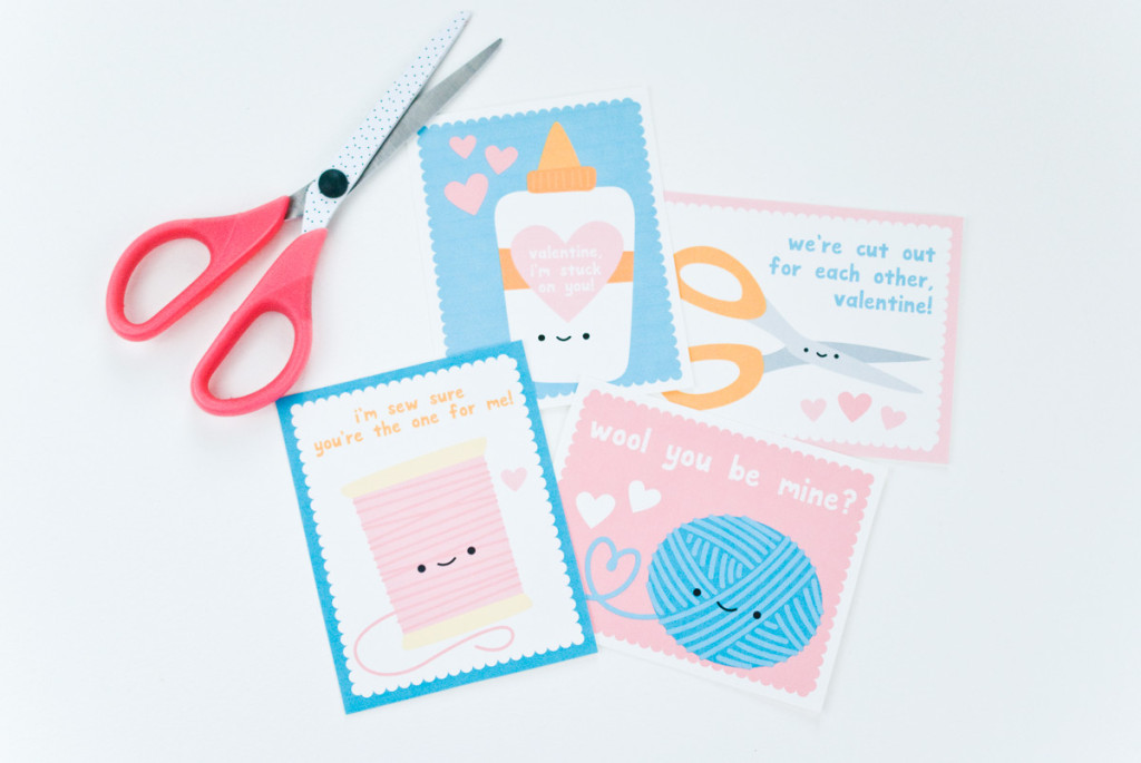Kawaii Crafty Valentines