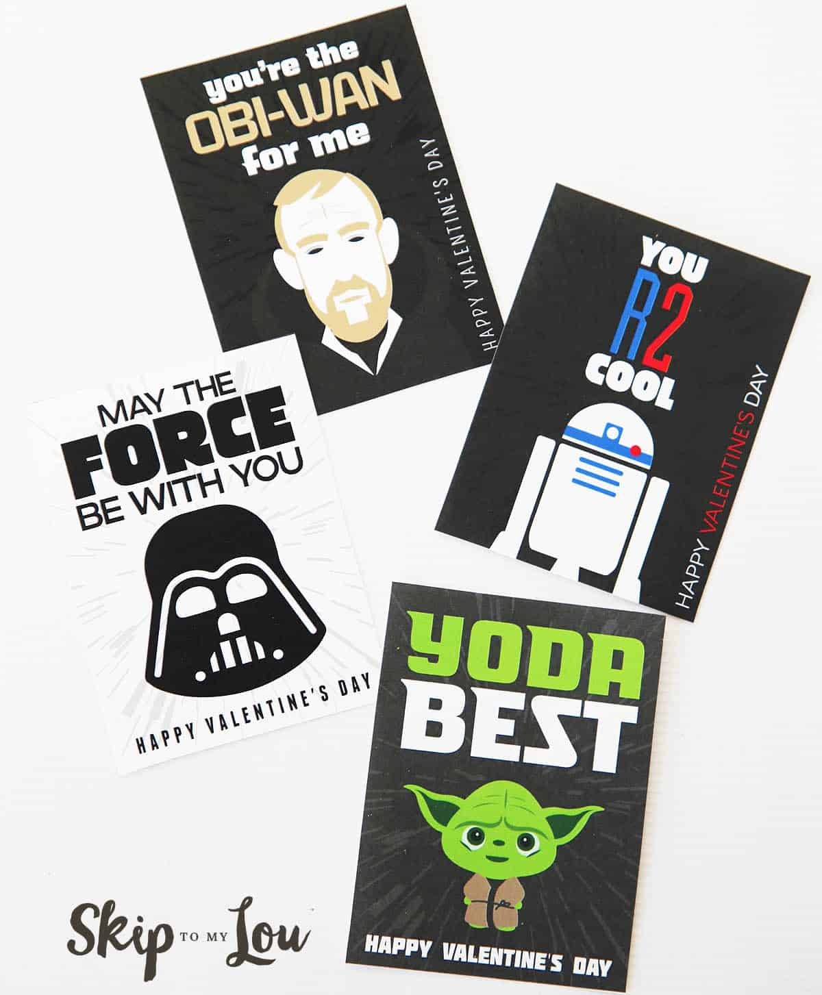 May The Fourth Be With You School Activities: The BEST Free Printable Star Wars Valentines