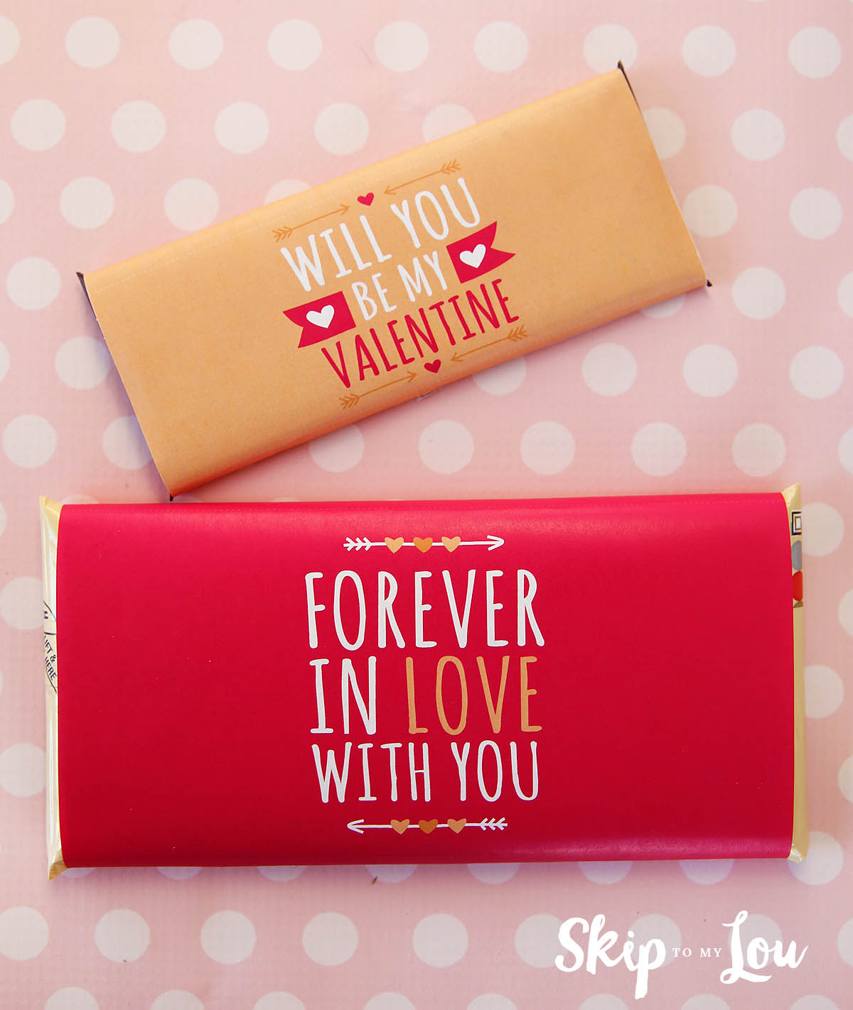 Valentine Candy Bar Covers