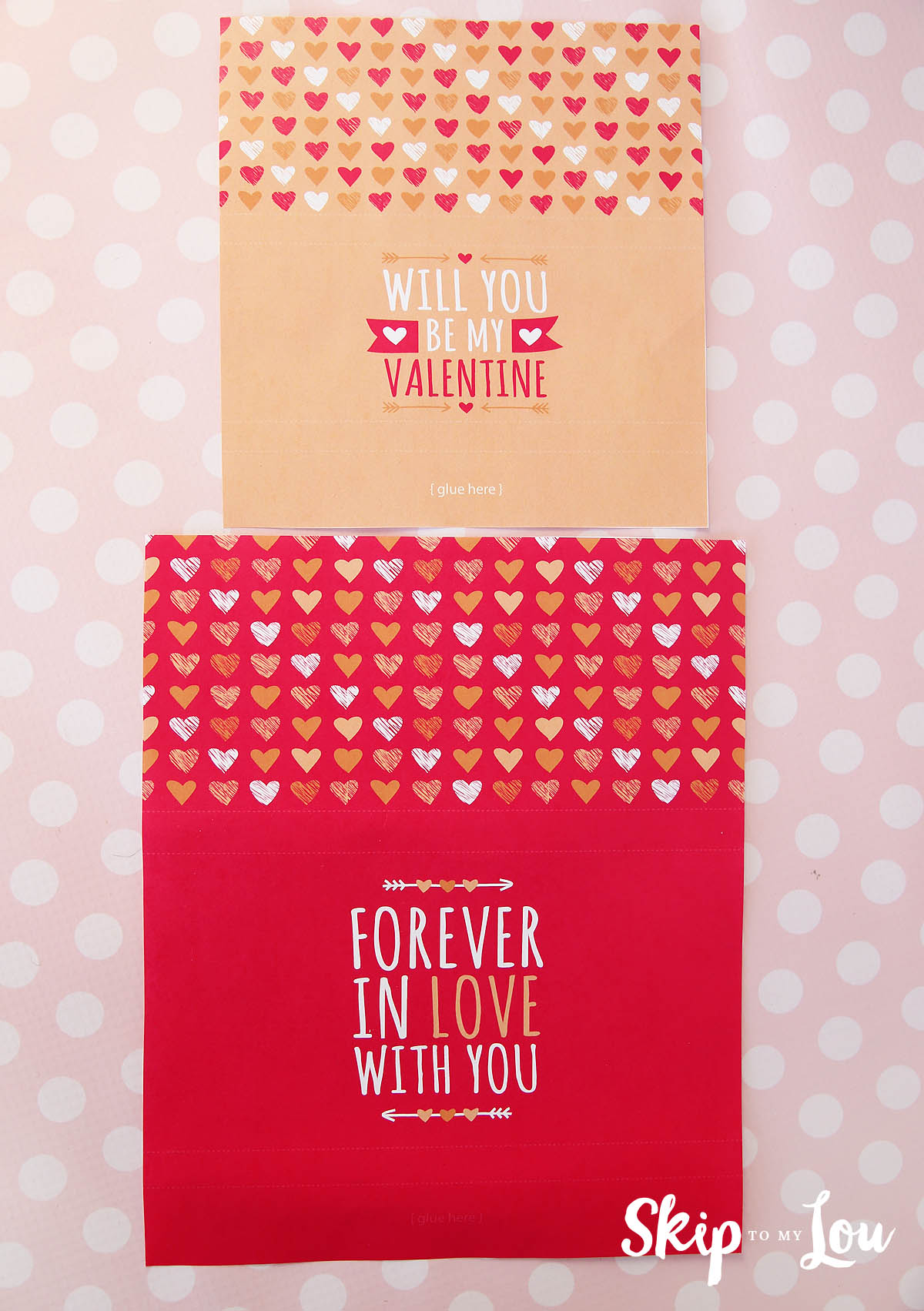 Valentine Candy Bar Wrapper