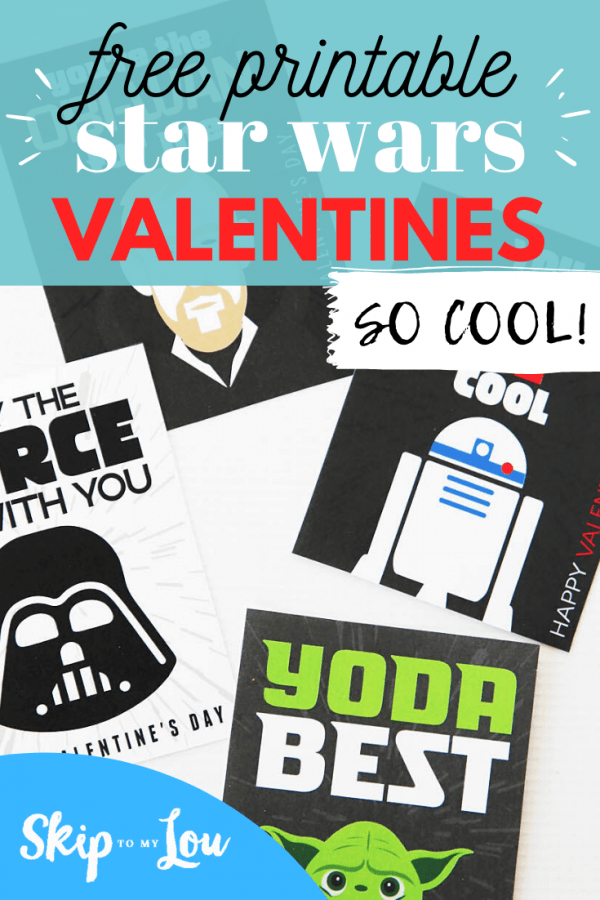 free printable star wars valentines PIN