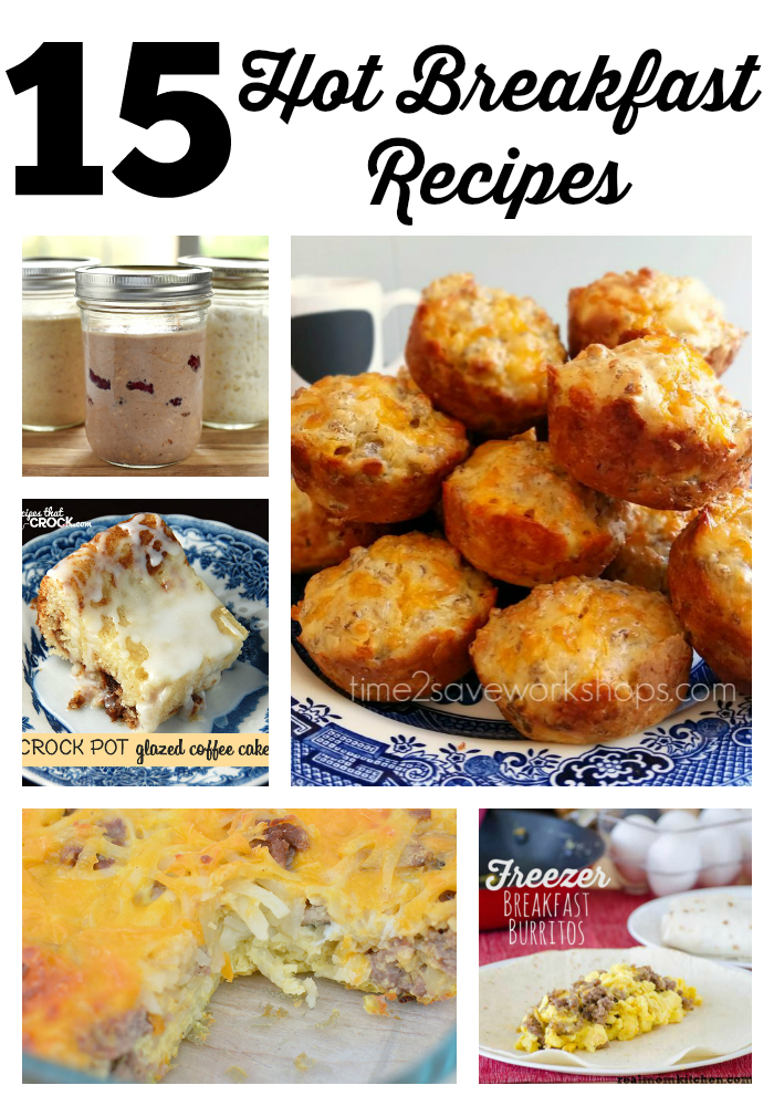 hot breakfast recipes