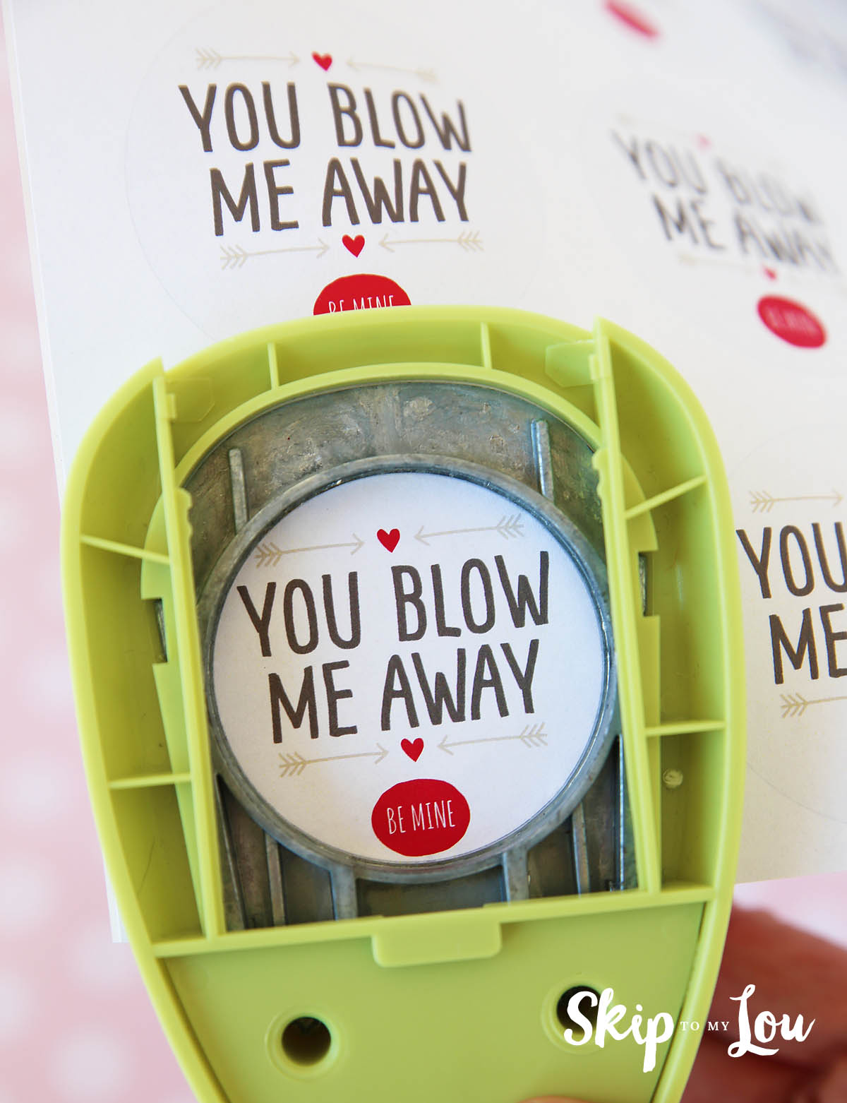 graphic relating to You Blow Me Away Valentine Printable named Yourself Blow Me Absent Printable Valentine Miss out on Toward My Lou