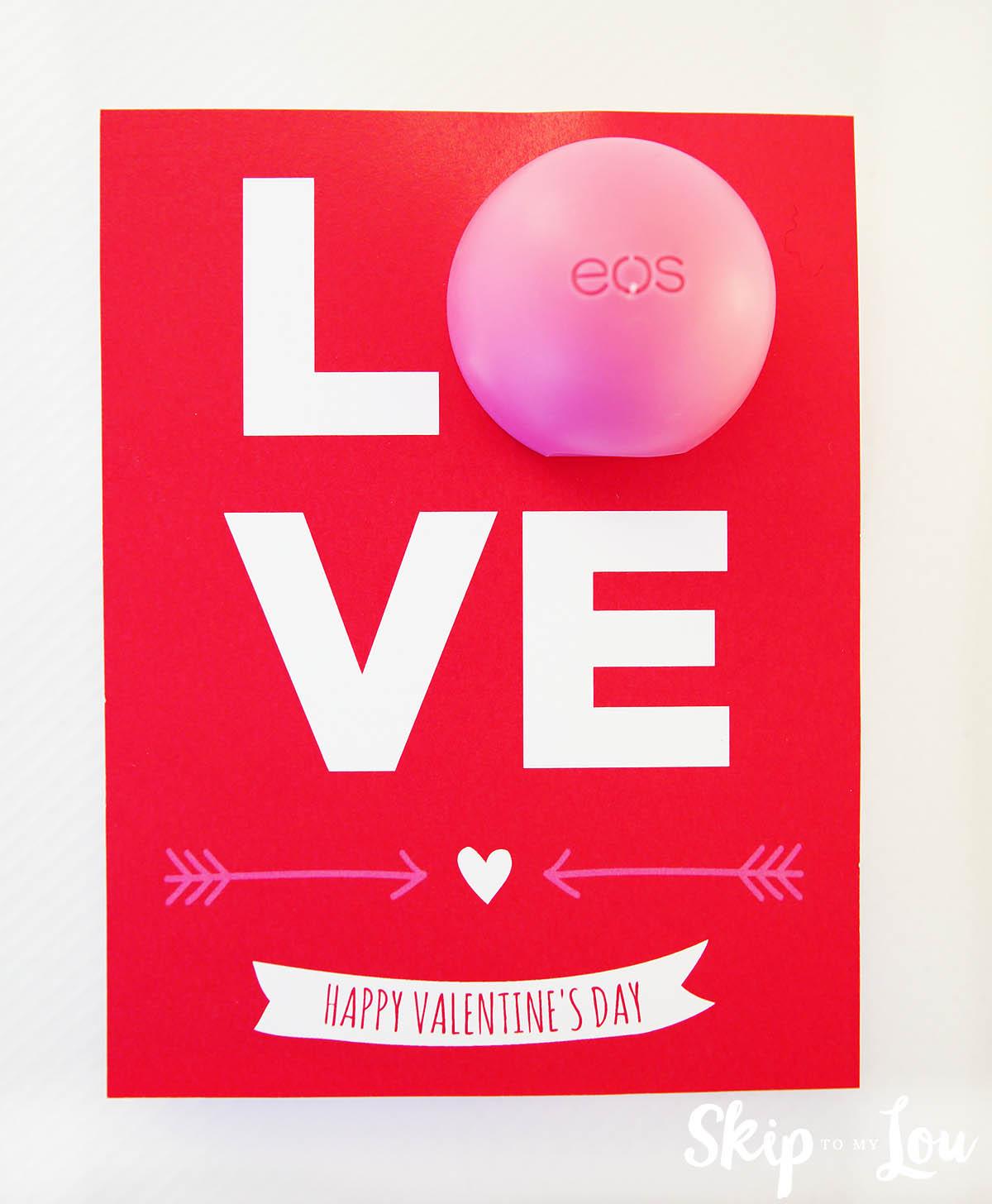 EOS Lip Balm LOVE Valentine