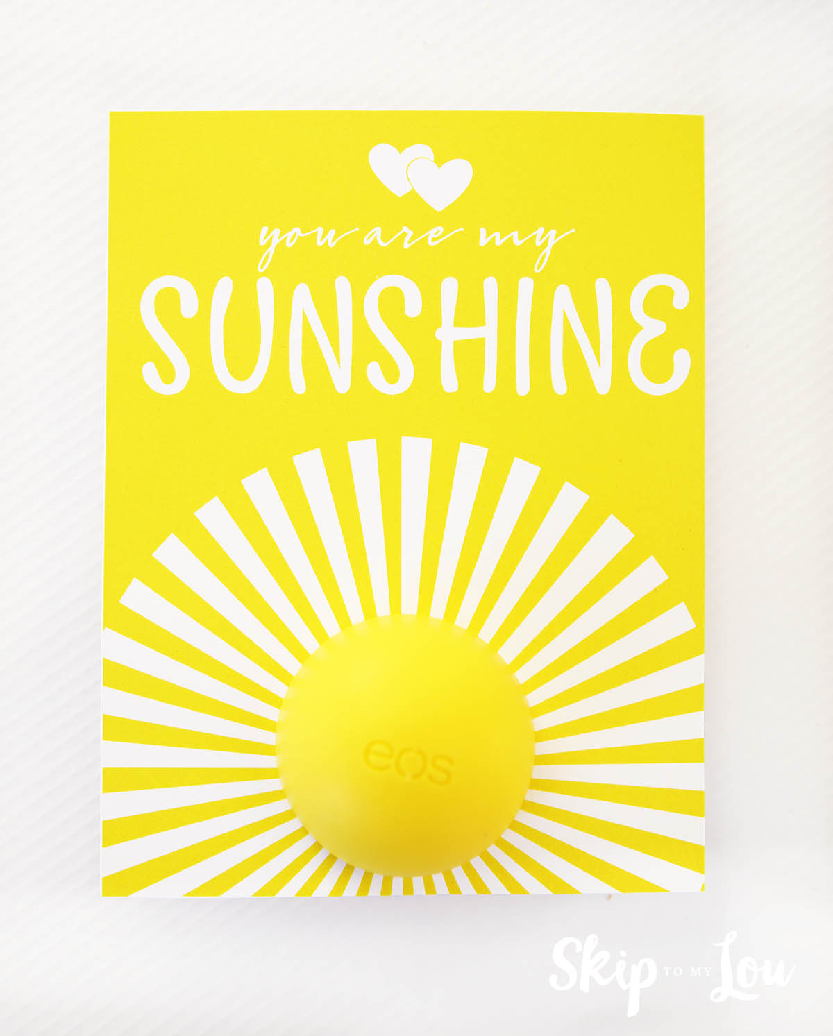You Are My Sunshine EOS Lip Balm Gift