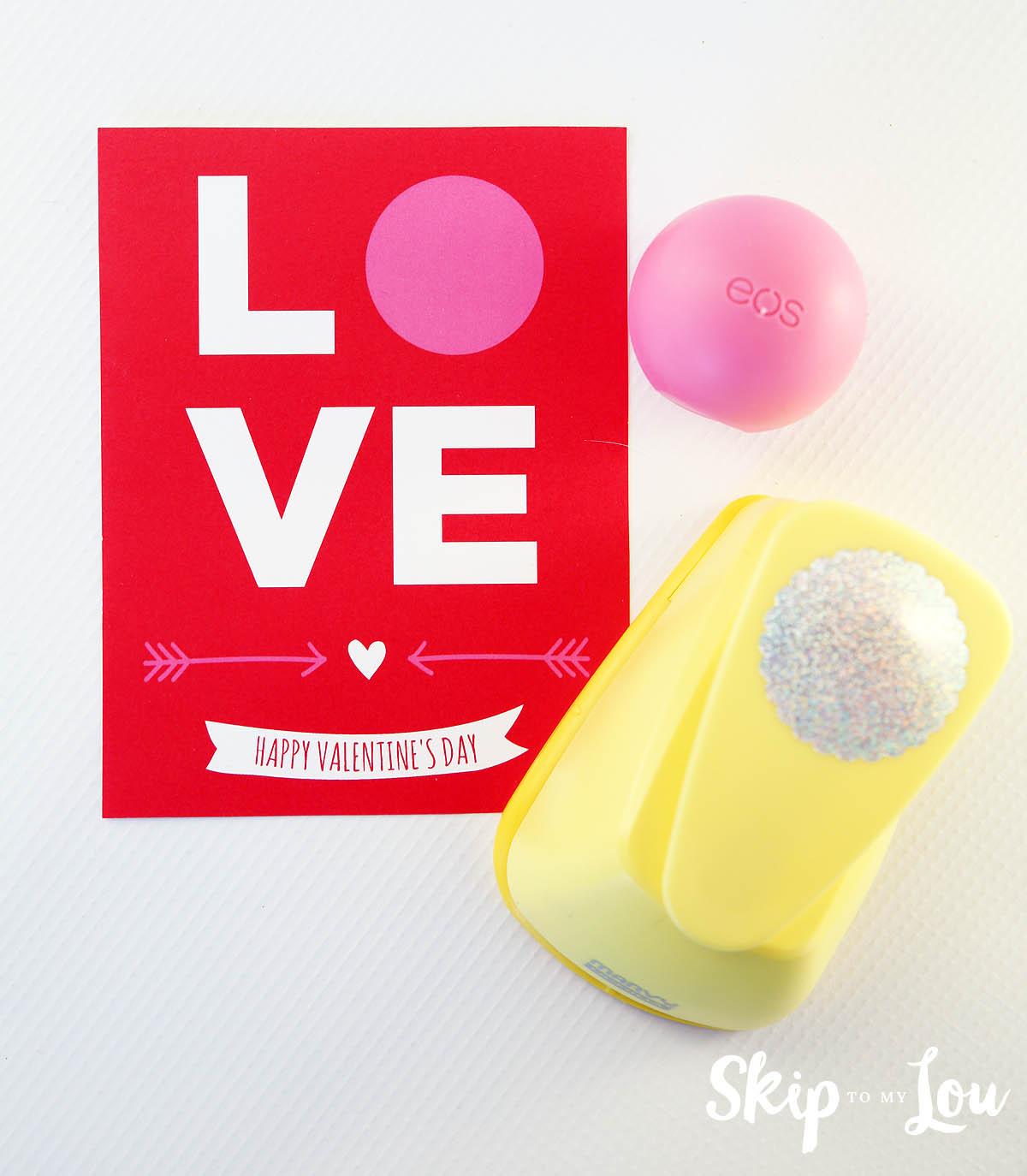 EOS Valentine LOVE printable