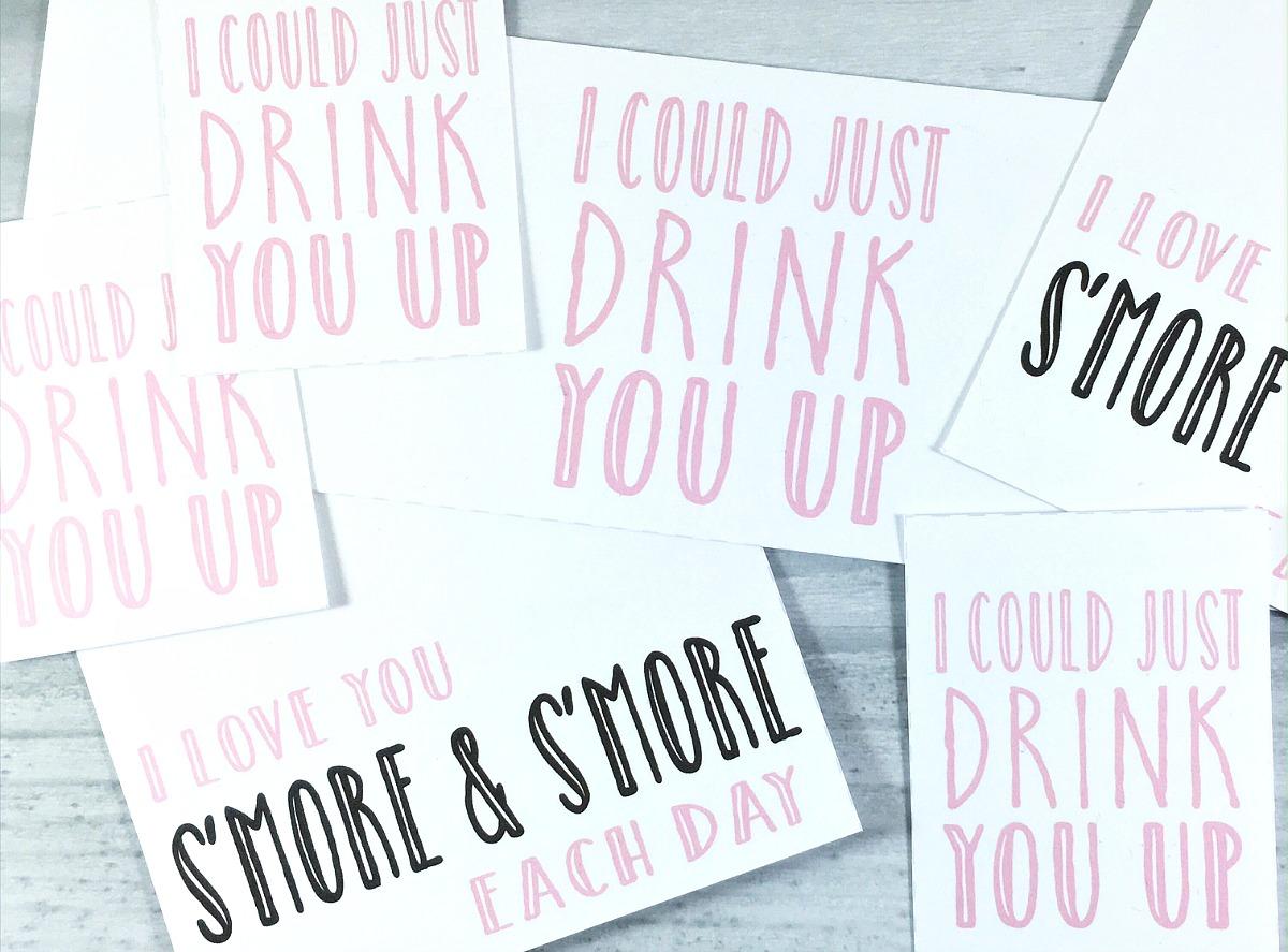 Smore Valentine Printable
