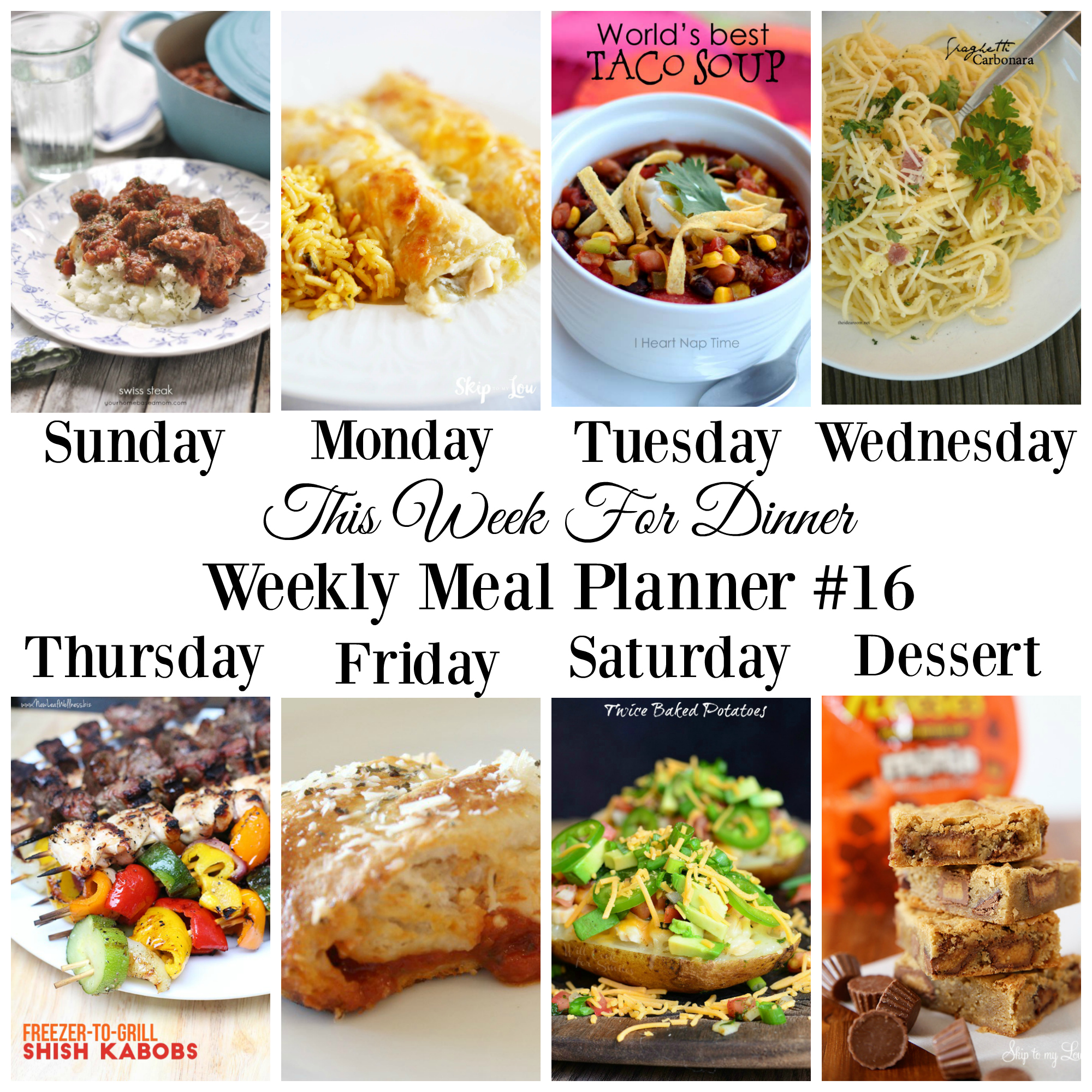 Meal Planner 16